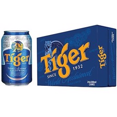 Bia Tiger 330ml 1박스 (24개입)