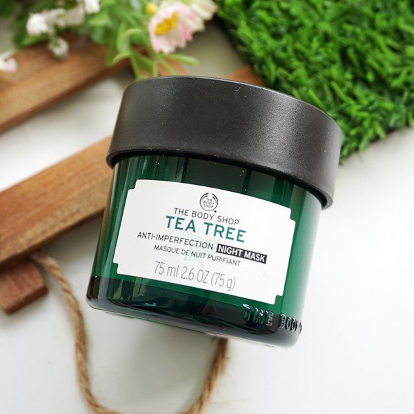 Mặt Nạ Ngủ The Body Shop Tea Tree Anti-Imperfection Night Mask (75g)