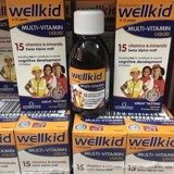 Vitamin tổng hợp Wellkid Multi-vitamin Liquid 150ml