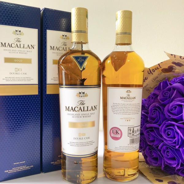 RƯỢU MACALLAN 1824 GOLD DOUBLE CASK - TEM UK