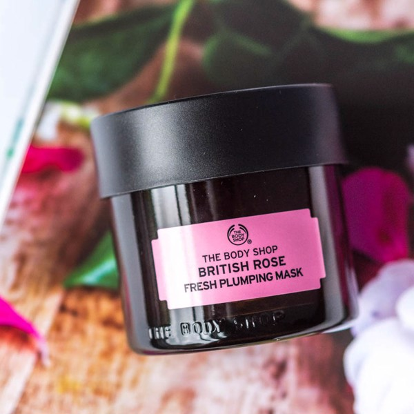 Mặt Nạ The Body Shop British Rose Fresh Plumping Mask (75ml)