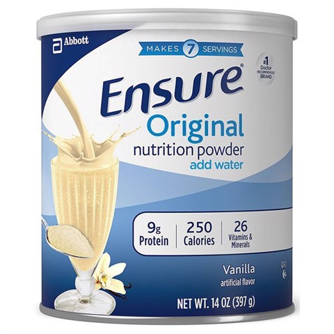 Sữa Bột Ensure Original Nutrition Powder 397g