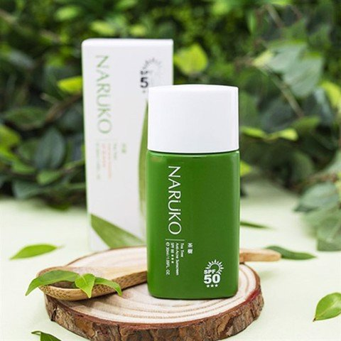 Kem Chống Nắng Naruko Tea Tree Anti-Acne Sunscreen SPF50+ 30ml