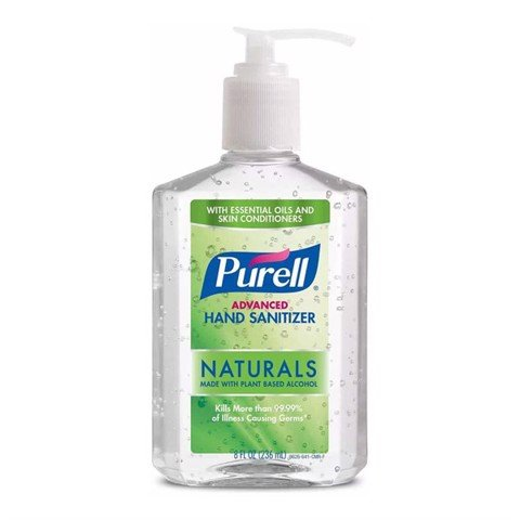 Gel Rửa Tay Khô Purell Advanced Hand Sanitizer Naturals 236ml