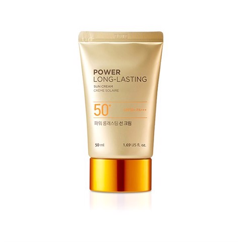Kem Chống Nắng The Face Shop Power Long Lasting Sun Cream 50ml SPF50+