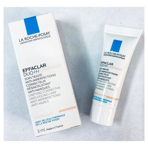 Kem Trị Mụn La Roche Posay Effaclar Duo+ Unifiant Light 3ml