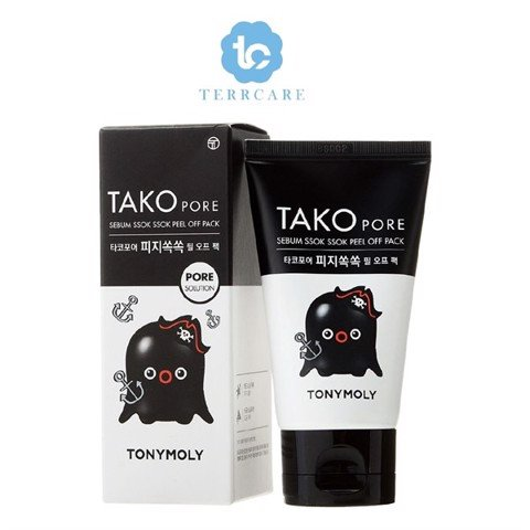 Gel Lột Mụn TonyMoly Tako pore Sebum Peel Off Pack 60ml