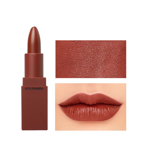 Son Thỏi 3CE Stylenanda Lip Color màu 909 Smoked rose