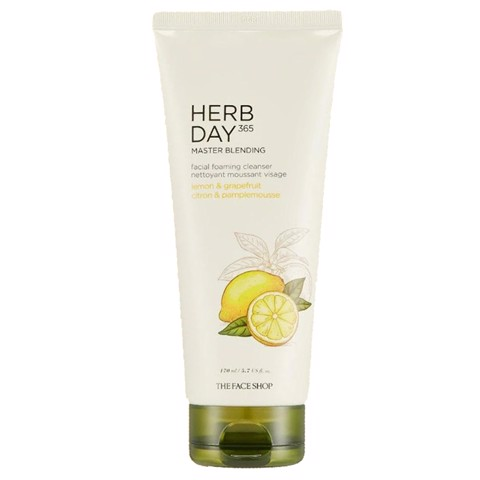 Sữa Rửa Mặt The Face Shop Herb Day 365 Master Blending 170ml