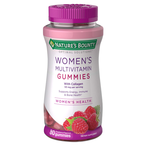 Kẹo Dẻo Bổ Sung Vitamins Collagen Nature's Bounty Women's Multivitamin Gummies 240 viên