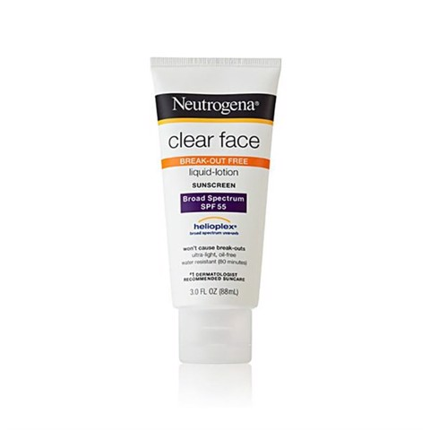 Kem Chống Nắng Neutrogena Clear Face Liquid-lotion Sunscreen SPF 55 88ml