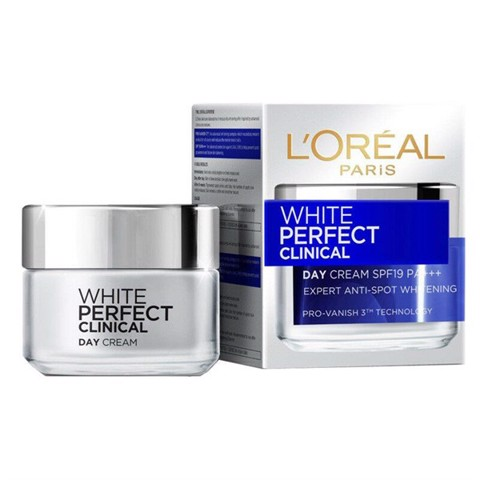 Kem Dưỡng Da Ban Ngày L'Oreal Paris White Perfect Clinical SPF19 50ml