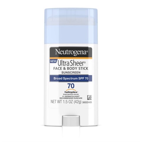 Kem chống nắng Neutrogena Ultra Sheer Face & Body Stick Sunscreen Broad Spectrum SPF 70 42g