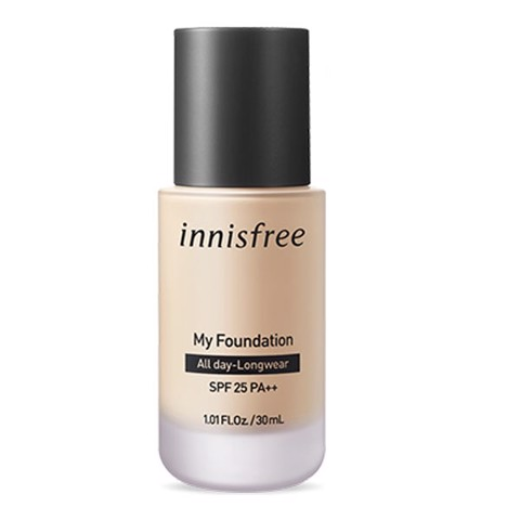 Kem Nền Trang Điểm Innisfree My Foundation All Day-Longwear SPF25 30ml