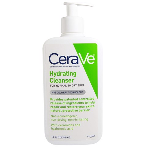 Sữa Rửa Mặt Cerave Hydrating Facial Cleanser 355ml
