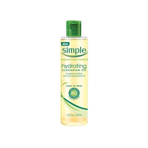 Dầu Tẩy Trang Simple Hydrating Cleasing Oil 125ml