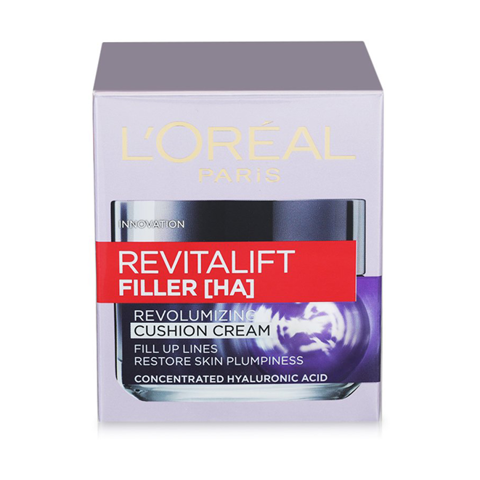 Kem Dưỡng Da L'Oreal Paris RevitaLift Filler Revolumizing Cushion Cream 50ml