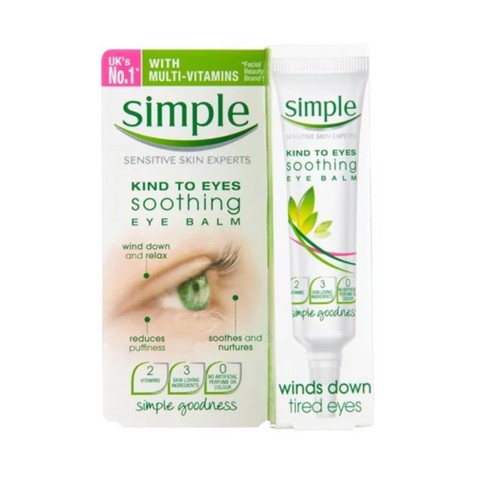 Kem Dưỡng Vùng Mắt Simple Kind To Eyes Soothing Eye Balm 15ml