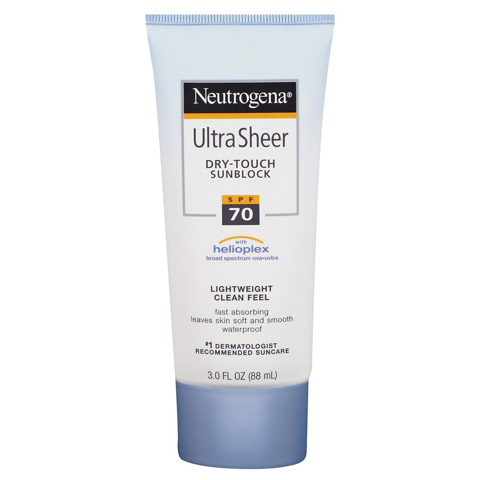 Kem Chống Nắng Neutrogena Ultra Sheer Dry-Touch Sunscreen SPF 70 88ml
