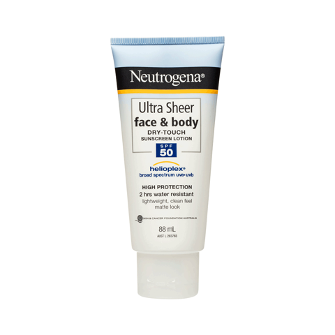 Kem Chống Nắng Neutrogena Ultra Sheer Face&Body Dry Touch Sunscreen Lotion SPF50 88ml