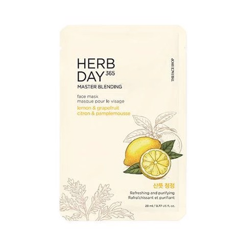 Mặt Nạ Giấy The Face Shop Herb Day 365 Master Blending 23ml