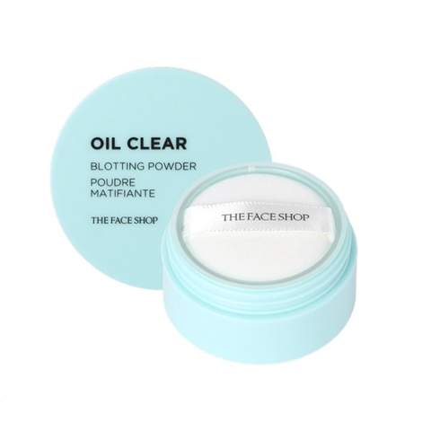 Phấn Bột Kiềm Dầu The Face Shop Oil Clear Blotting Powder 6g