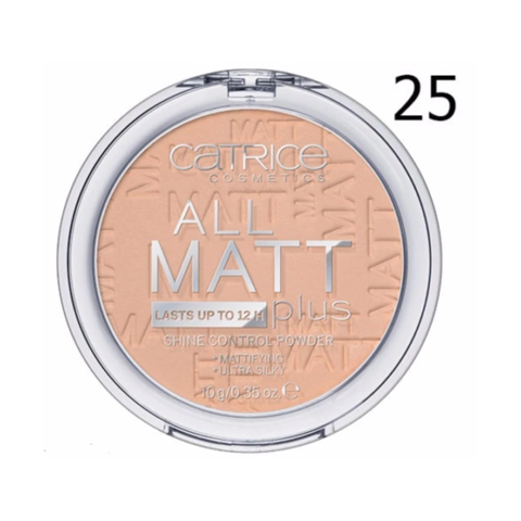 Phấn Phủ Catrice All Matt Plus Shine Control Powder 10g