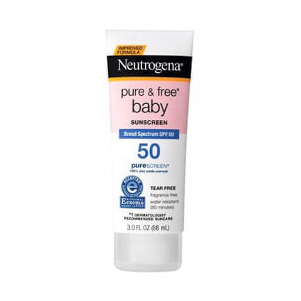 Kem Chống Nắng Neutrogena Pure & Free Baby Sunscreen Broad Spectrum SPF 50 88ml