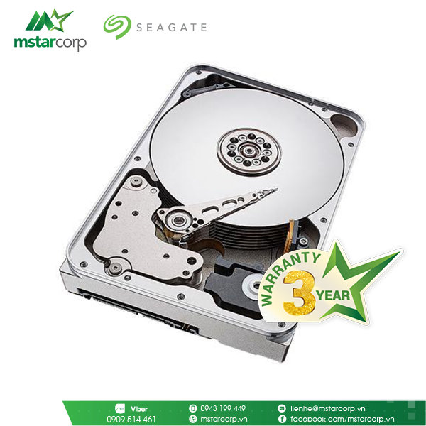 HDD Seagate IronWolf 12TB - ST12000VN0008