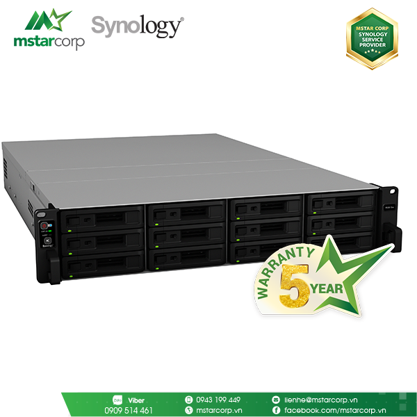 NAS Synology RS3618xs