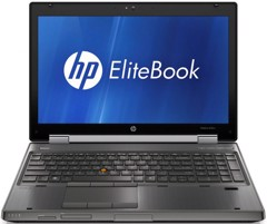 Laptop HP Elitebook WorkStation 8570W (Core i7 3720QM, RAM 4GB, HDD 320GB, Nvidia Quadro K1000M, 15.6 inch FullHD)