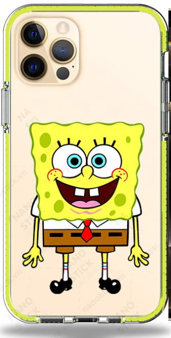 Ốp Lưng iPhone 12 Pro Max in hình SpongeBob 051