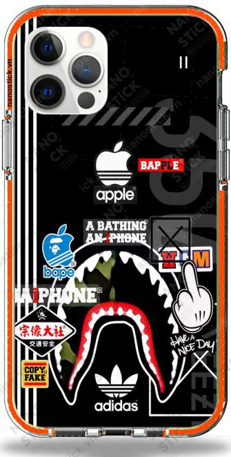 Ốp Lưng iPhone 12 Pro Max in hình Sticker 004