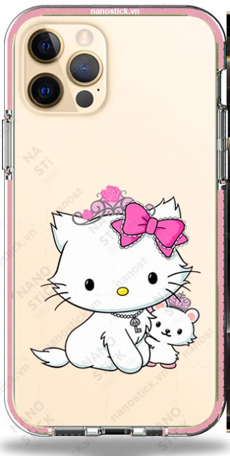 Ốp Lưng iPhone 12 Pro Max in hình Kitty 057
