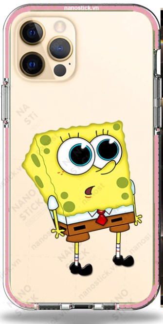 Ốp Lưng iPhone 12 Pro Max in hình SpongeBob 053
