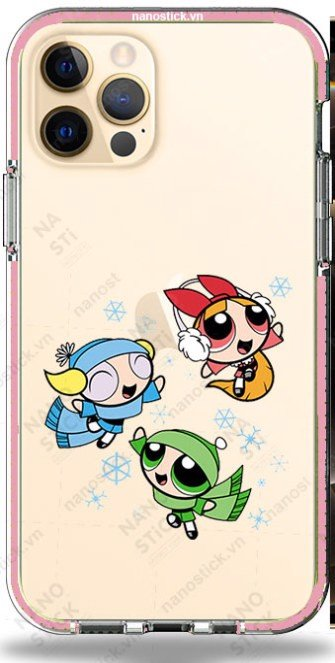 Ốp Lưng iPhone 12 Pro Max in hình The Powerpuff Girls 056