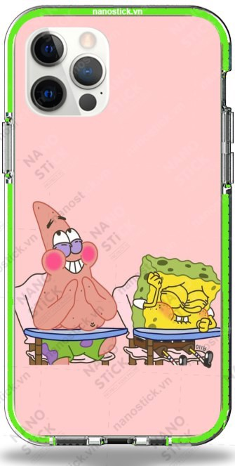 Ốp Lưng iPhone 12 Pro Max in hình SpongeBob 007