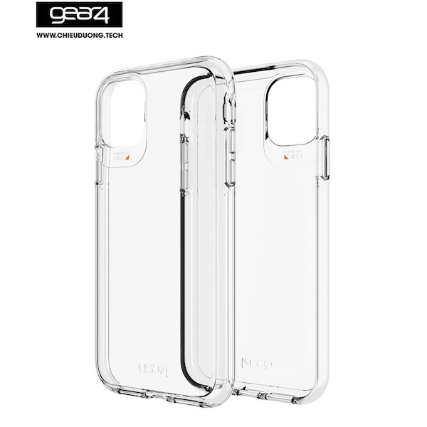 Ốp lưng GEAR4 D3O Crystal Palace - iPhone 12 /12 Pro - Clear