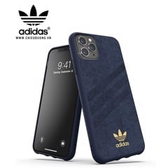 Ốp lưng Adidas iPhone 11 pro Max OR Moulded Case Ultrasuede FW19 Collegiate Royal