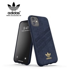 Ốp lưng Adidas iPhone 11 OR Moulded Case Ultrasuede FW19 Collegiate Royal