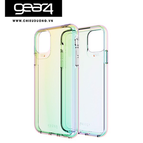 Ốp lưng chống sốc Gear4 D3O Crystal Palace Iridescent cho iPhone 12 Pro Max