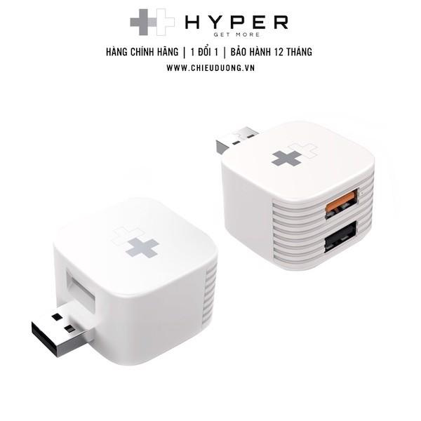 Hypercube sạc và backup cho iPhone, iPad, Android
