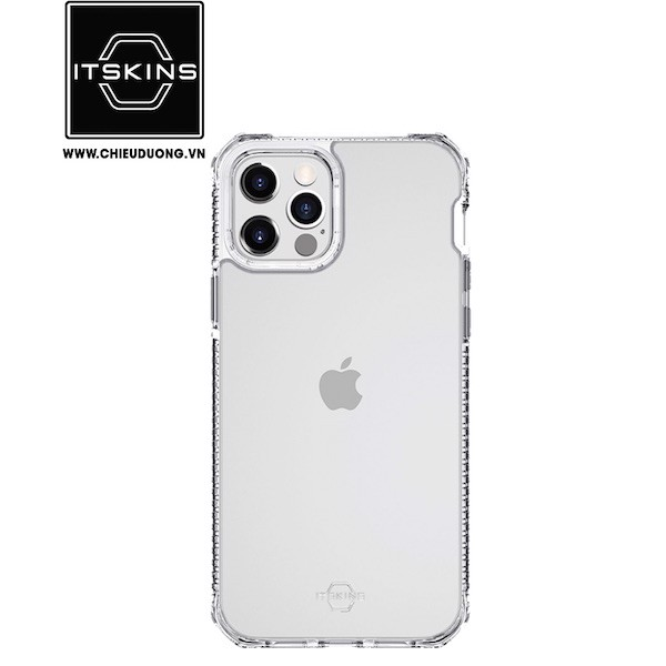 Ốp lưng Itskins (FRANCE) Hybrid Clear Drop Safe cho iPhone 12 Pro Max
