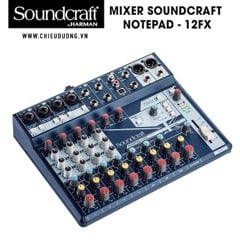 Bàn Mixer Soundcraft Notepad - 12FX