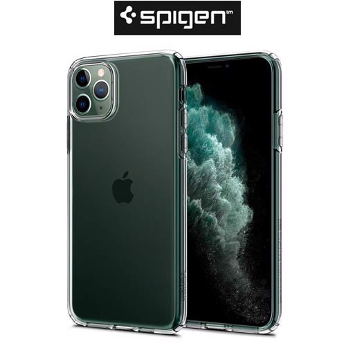 Ốp iPhone 11 Pro Max Spigen ultra hybrid crystal- Trắng trong