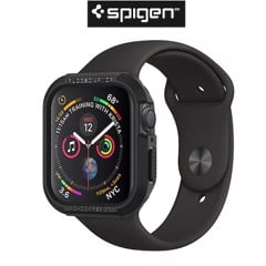 Case Spigen iWatch Series 4 (40mm) Case Rugged Armor Black