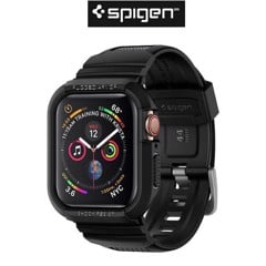 Case Spigen iWatch Series 4 (44mm) Case Rugged Armor Pro Black