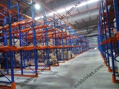 Drive-in Racking System for Heavy Loads