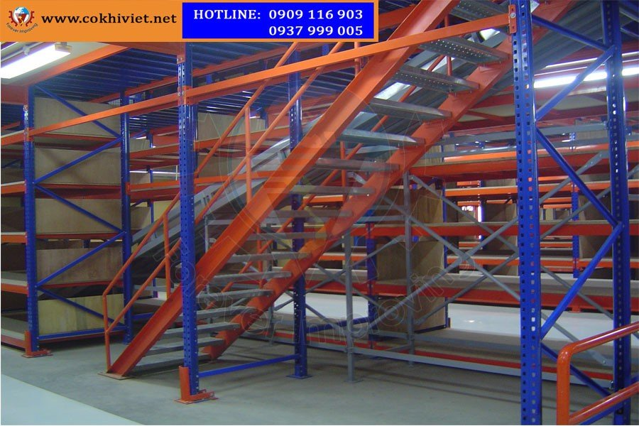 Mezzanine Racking Systems - Racking Systems Combine Floor