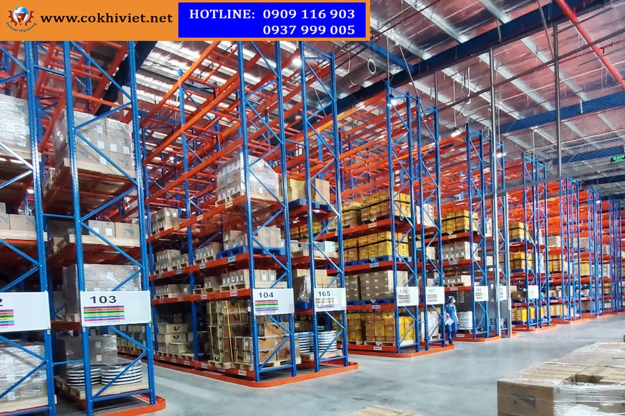 VNA Racking System - The best choice for heavy loading products, high storage density